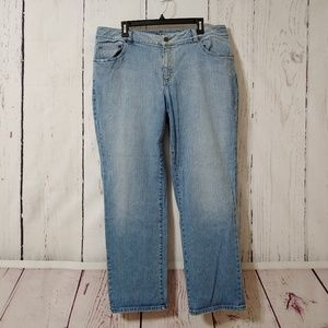 Ralph Lauren Lauren Jeans Light Wash Straight Leg